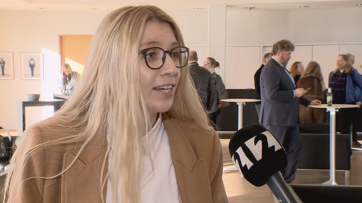 Alda Karen Hjaltalín er sennilega eftirsóttasti fyrirlesari landsins um þessar mundir.