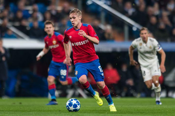Arnór náði ekki að skora fyrir CSKA í dag