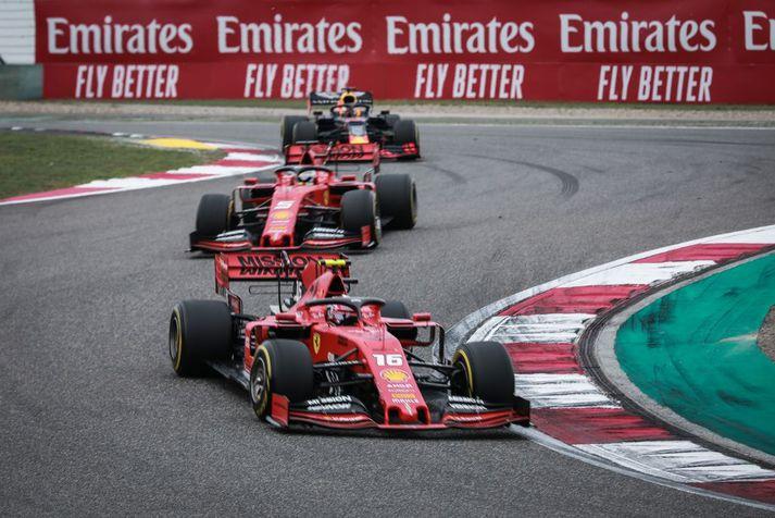 Ferrari mætir með uppfærðan bíl frá því í kínverska kappakstrinum