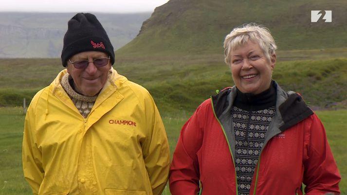 Birgir og Rósbjörg í Krossavík rifja upp rómantíkina á Raufarhöfn.