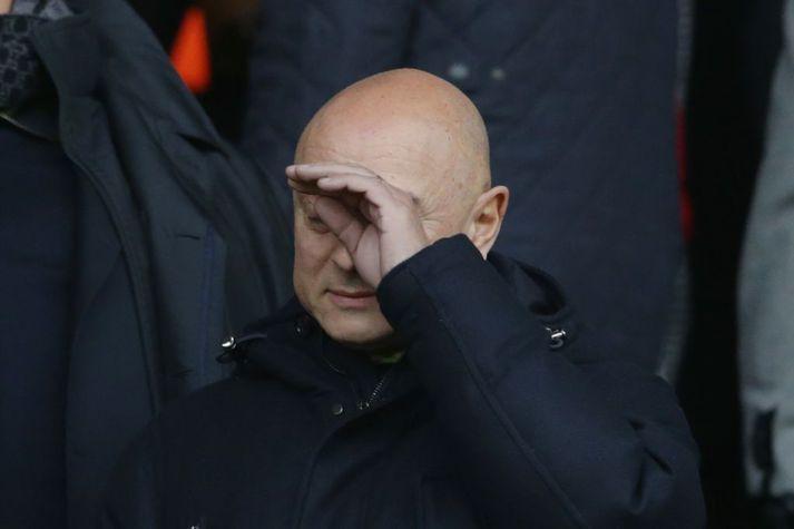 Daniel Levy hefur tekið margar umdeildar ákvarðanir hjá Tottenham en hann segir að kórónuveiran sé það erfiðasta sem hefur komið í hans tuttugu ára tíð hjá félaginu.