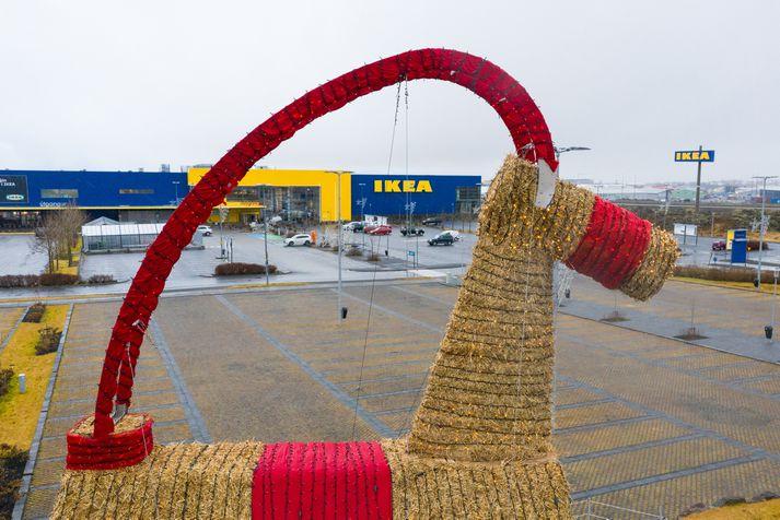 Guðný Camilla Aradóttir, yfirmaður samfélagsábyrgðar og samskiptadeildar IKEA á Íslandi, segir ekki hafa tíðkast hér á landi að greiða starfsfólkinu bónus.