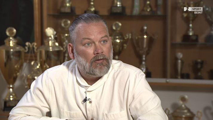 Böðvar Guðjónsson var í viðtali í Sportinu í dag.