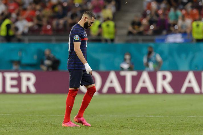 Karim Benzema er kominn í einangrun.