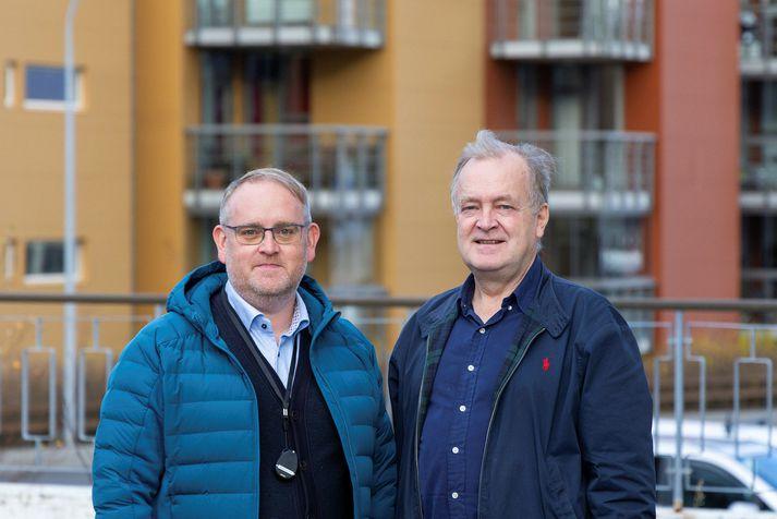 Arnar Ægisson og Halldór Axelsson hjá Alvican.