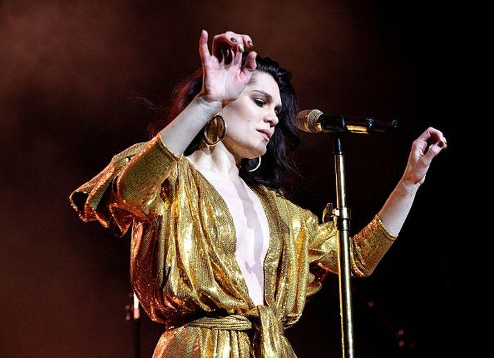 Jessie J á tónleikum sínum í The Royal Albert Hall í vikunni.