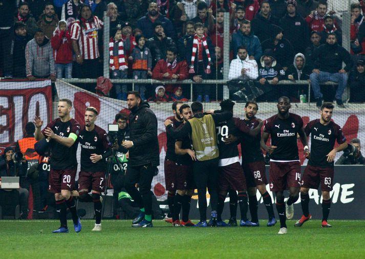 Stórlið AC Milan er í vandræðum.