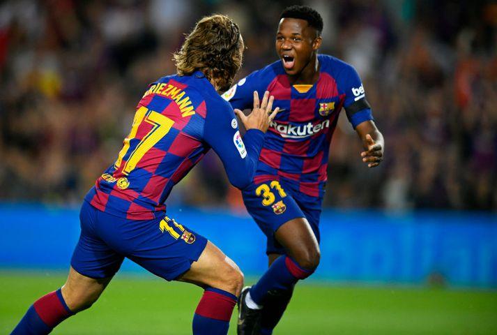 Sjá um sóknarleikinn í fjarveru Messi, sem er meiddur.