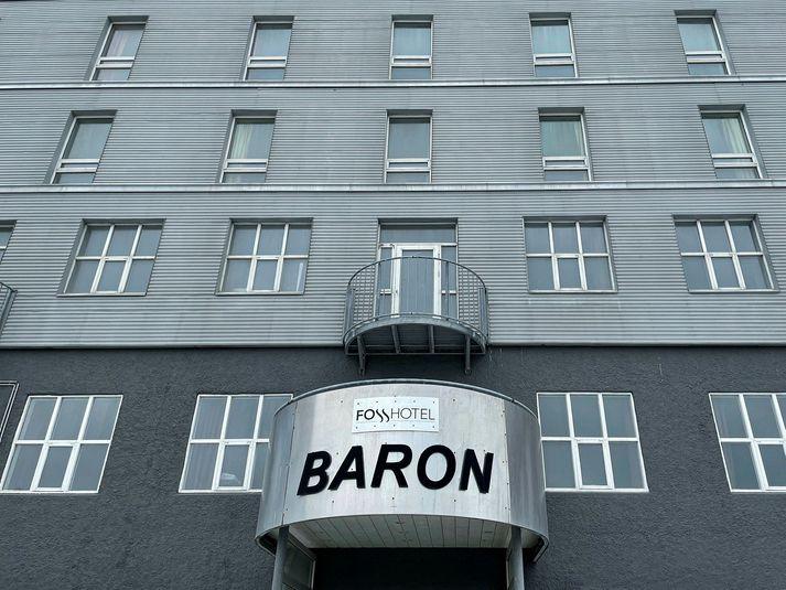 Hótel Baron verður ekki nýtt sem sóttkvíarhótel, líkt og til stóð.