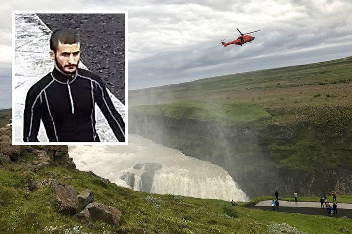 Nika Begades féll í Gullfoss 19. júlí síðastliðinn. Hann var hælisleitandi hér á landi frá Georgíu.