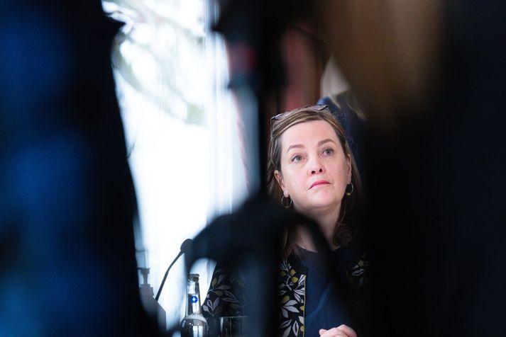 Svandís Svavarsdóttir er heilbrigðisráðherra.