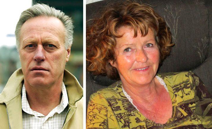 Tom Hagen og Anne-Elisabeth Hagen.
