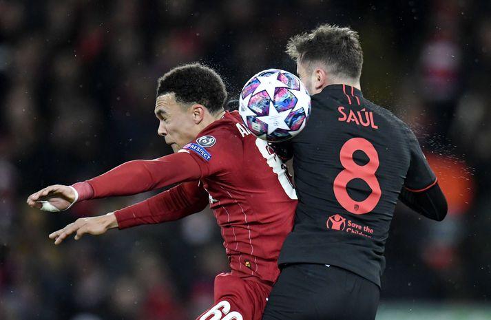 Er leikmaður Atletico Madrid að fífla Manchester United?