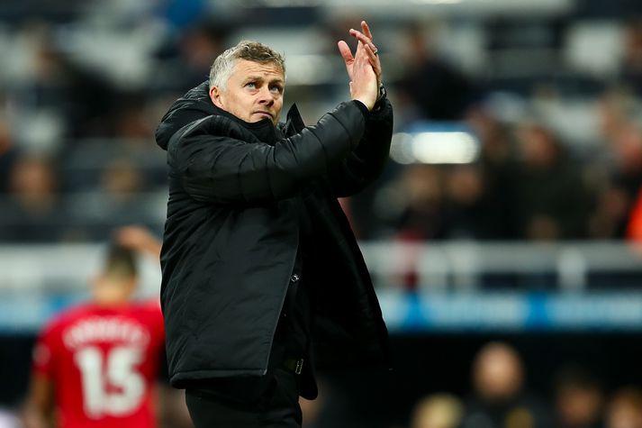 Ole Gunnar Solskjær, þjálfari Manchester United.