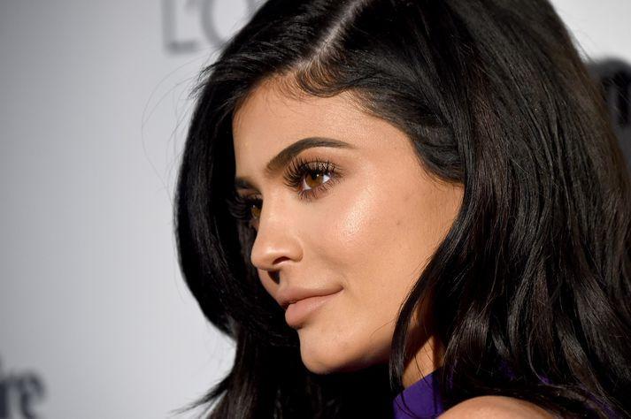 Kylie Jenner er með milljónir aðdáenda á samfélagsmiðlum.