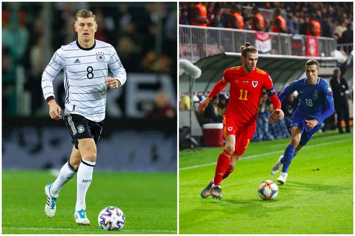 Toni Kroos og Gareth Bale verða í eldlínunni í kvöld.