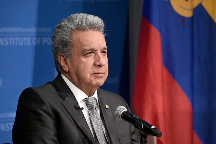 Lenin Moreno, forseti Ekvador.