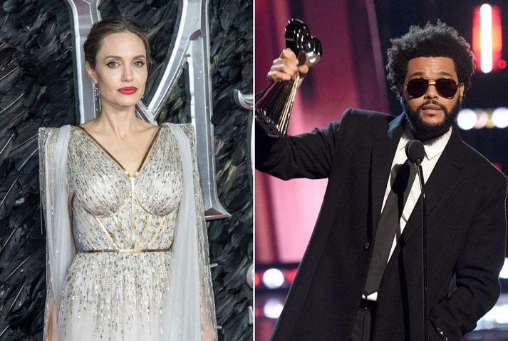 Sögusagnir eru í gangi um að Angelina Jolie og The Weeknd séu nýtt par.
