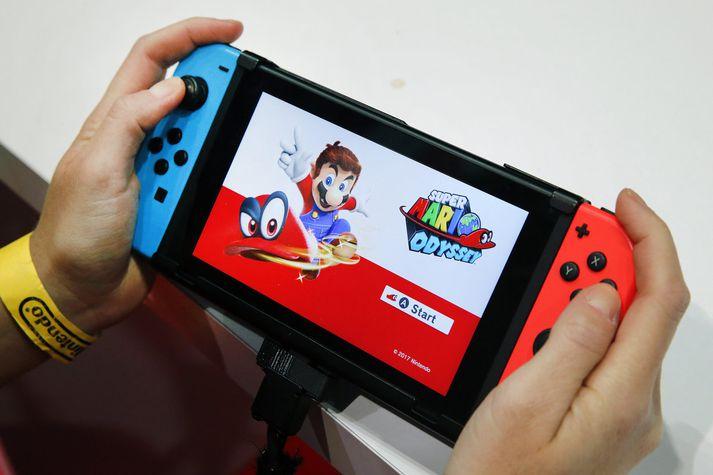 Mario Odyssey er einn vinsælasti leikurinn á Switch.