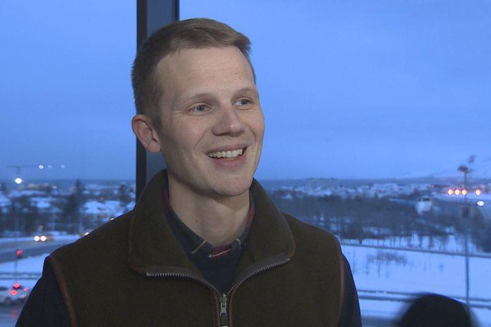 Eldur Ólafsson, stofnandi og framkvæmdastjóri AEX Gold.
