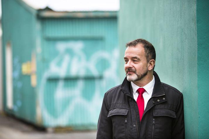 Jordi Cuixart, sakborningur og aðgerðasinni.