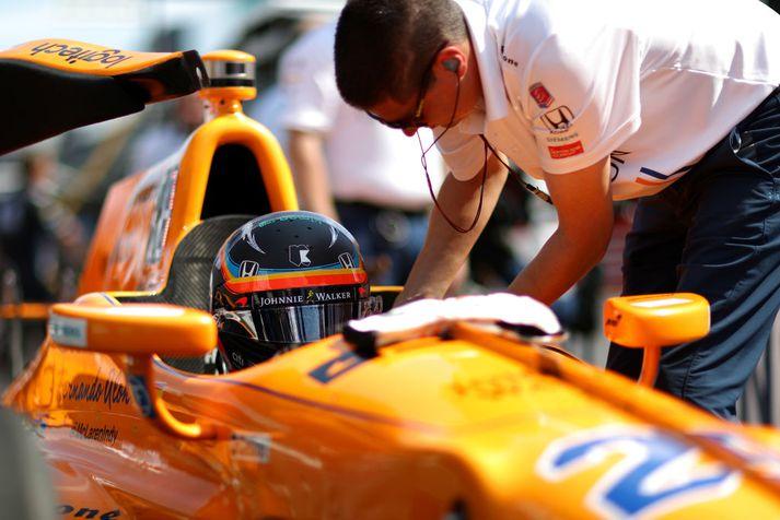 Alonso keppti fyrir Andretti Autosport-liðið í Indy 500-kappakstrinum í fyrra. Rætt hefur verið um möguleikann á að Andretti og McLaren fari í samstarf á næsta ári eða árið 2020.