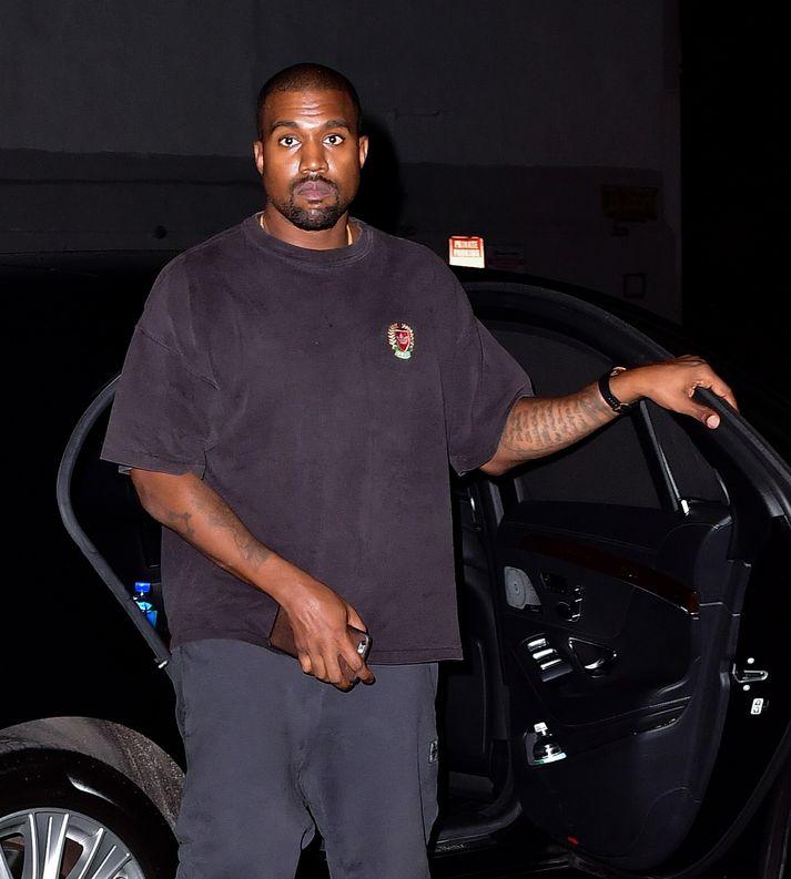 Rapparinn, fatahönnuðurinn og heimspekingurinn Kanye West.
