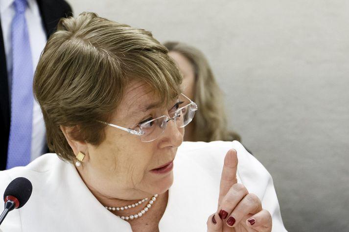 Michelle Bachelet, nýr mannréttindastjóri SÞ.