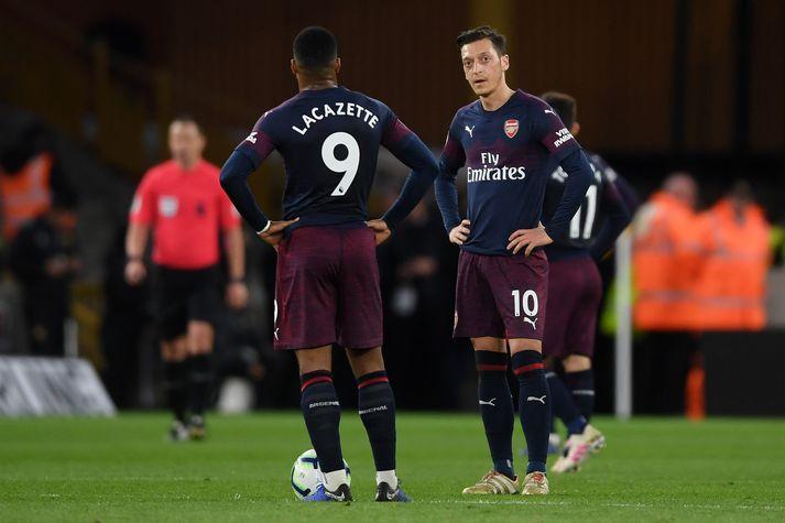 Özil og Lacazette hissa í kvöld.