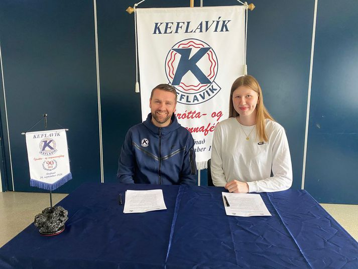Eygló Kristín hefur skrifað undir hjá Keflavík.