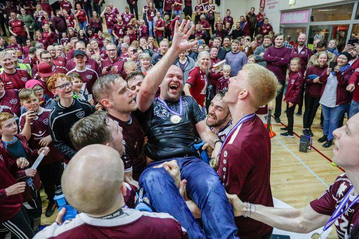 Patrekur Jóhannesson kvaddi Selfyssinga með Íslandsmeistaratitli