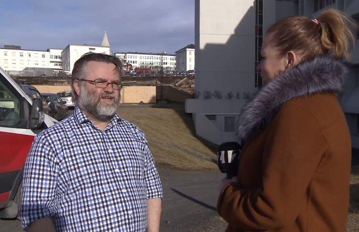 Pétur Henry Petersen, prófessor í taugavísindum við læknadeild HÍ.