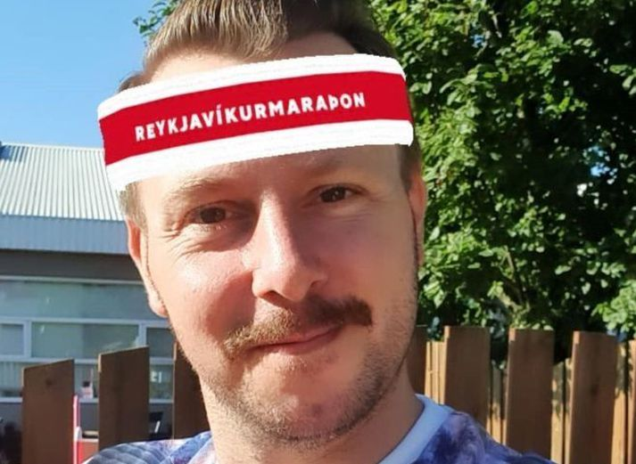 Steindi er andlit Reykjavíkurmaraþonsins í ár.