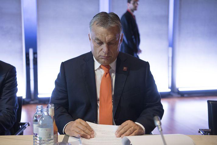 Victor Orban er forsætisráðherra Ungverjalands. Hann hefur nú sankað að sér miklum, svo gott sem algjörum, völdum.