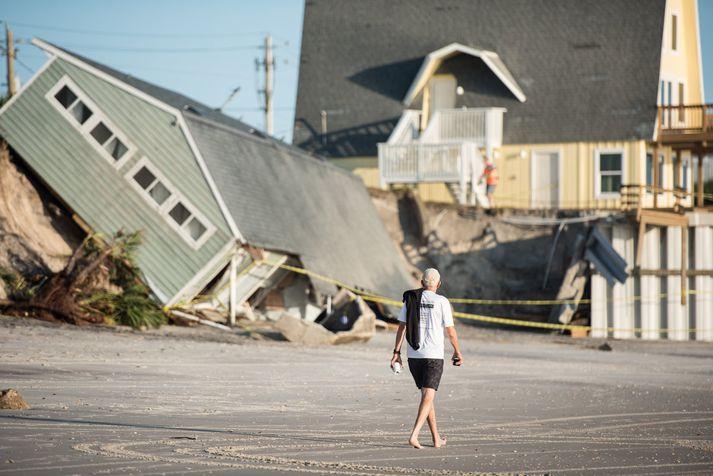 Irma olli miklu tjóni. Nordicphotos/AFP