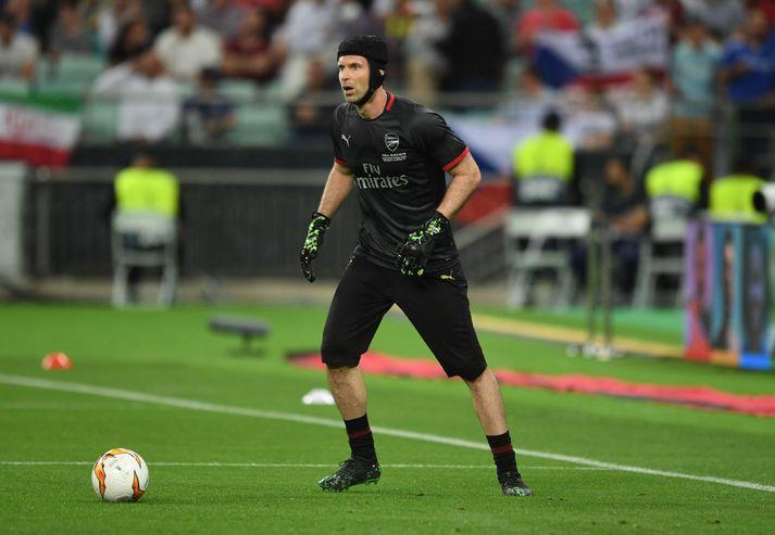 Petr Cech vann fjóra Englandsmeistaratitla með Chelsea. Hann spilaði síðustu ár ferils síns með Arsenal