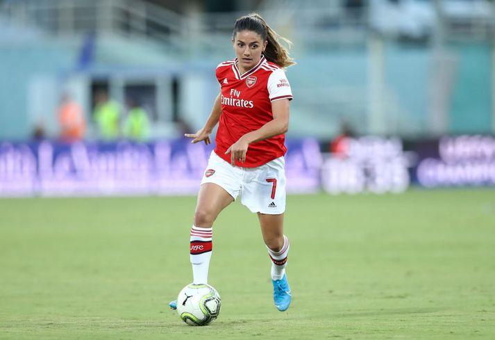 Danielle van de Donk reyndist hetja Arsenal í kvöld