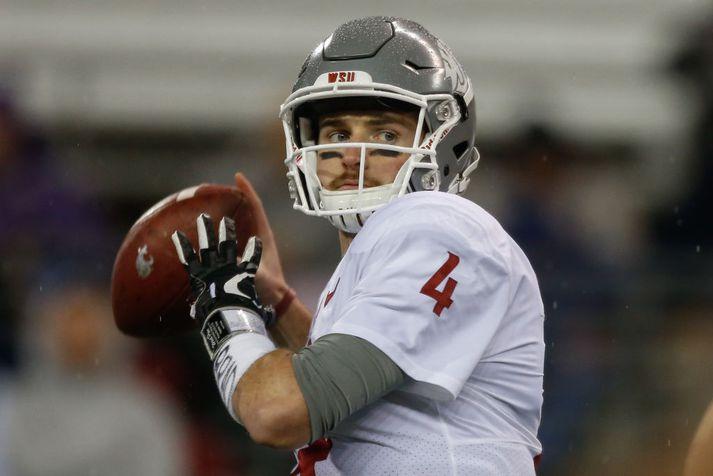 Falk ætlar að slá í gegn í NFL-deildinni.