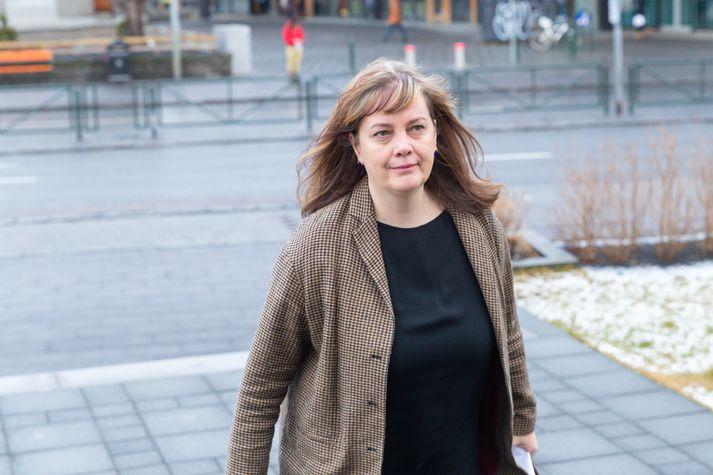 Svandís Svavarsdóttir, heilbrigðisráðherra