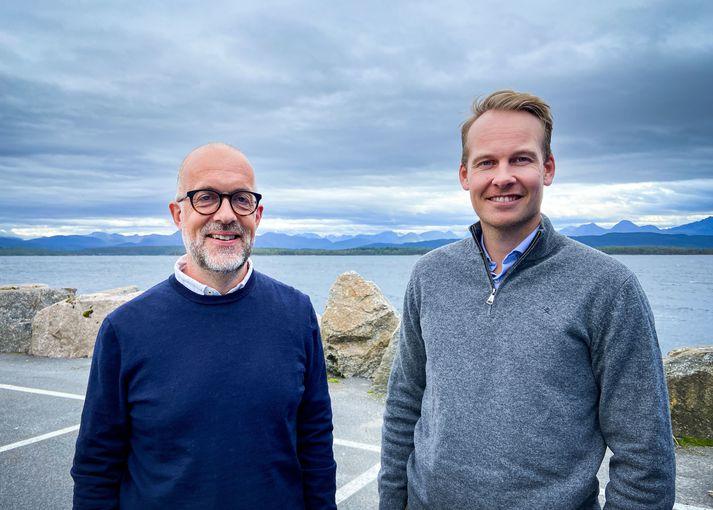 Oddvar Husby og Thomas Brevik, framkvæmdastjórar gagnavísinda og vöruferilsstjórnunar hjá Maritech.