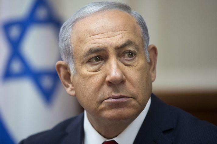 Netanjahú neitar allri sök.
