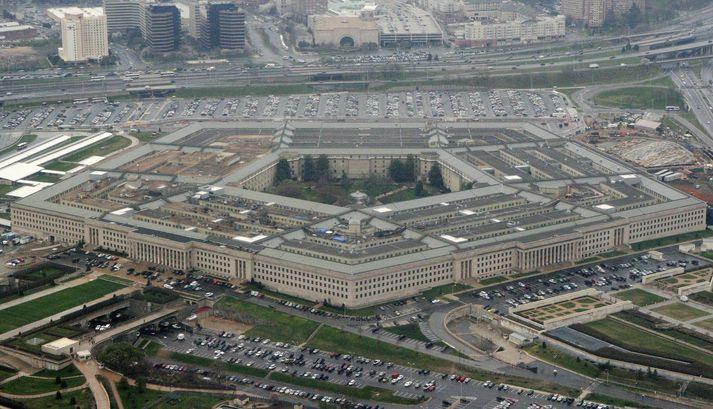 Varnarmálaráðuneyti Bandaríkjanna, sem í daglegu tali kallast Pentagon.