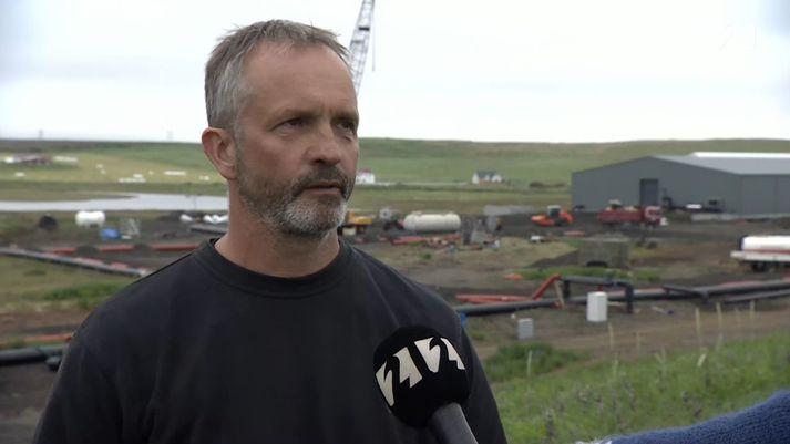 Fannar Helgi Þorvaldsson, framkvæmdastjóri Rifóss.