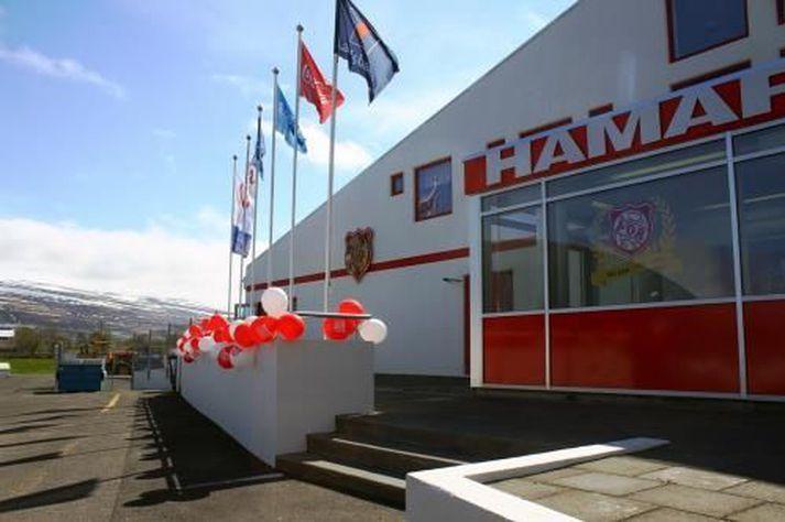 Hamri, félagsheimili Þórs á Akureyri, hefur verið lokað fram á mánudag.