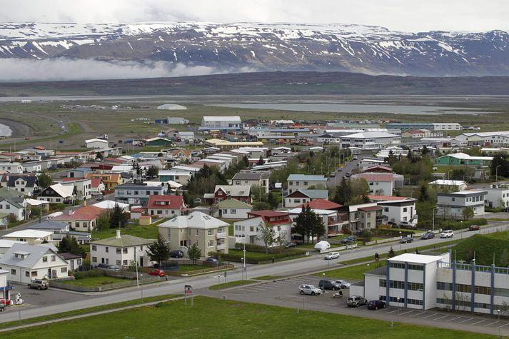 Sauðárkrókur þar sem Ingvi Hrannar Ómarsson kennir.