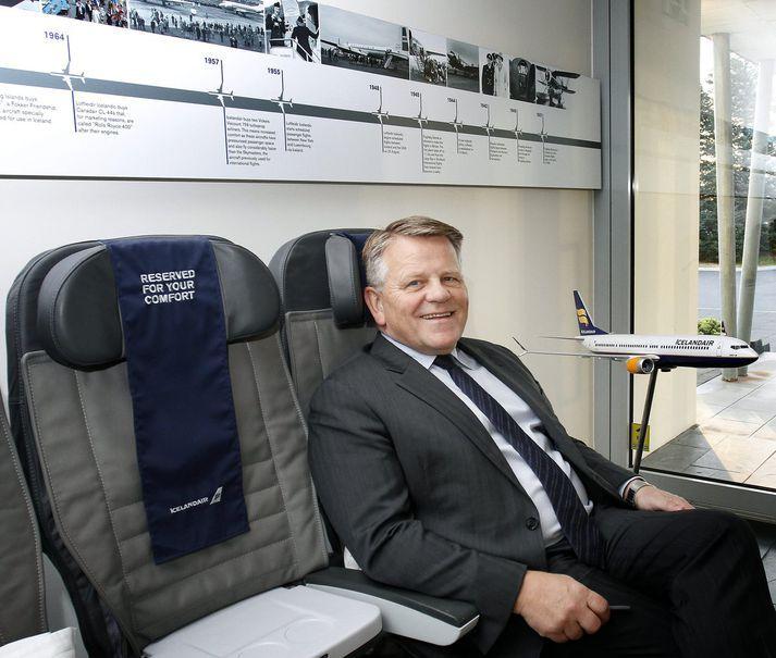 Björgólfur Jóhannsson, forstjóri Icelandair