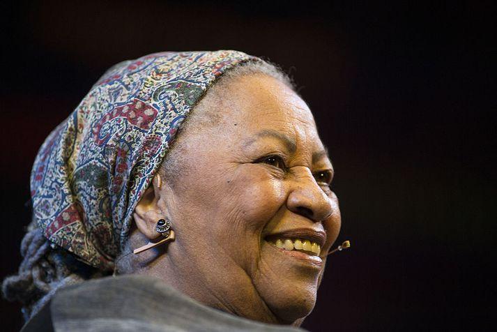 Toni Morrison var 88 ára gömul.