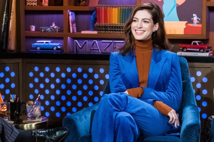 Anne Hathaway gekk í gegnum ýmsar þrekraunir við tökur á Interstellar hér á Íslandi.
