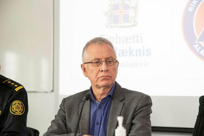 Þórólfur Guðnason sóttvarnalæknir verður á fundinum.