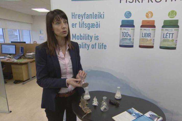 Hólmfríður Sveinsdóttir er doktor í lífvísindum og næringarfræðingur.